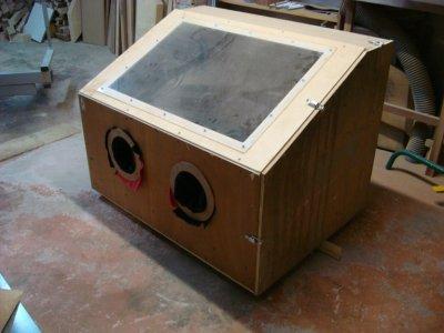 cabine de microbillage spitr0 ducati full stage6 by b rb0s d sign. Black Bedroom Furniture Sets. Home Design Ideas