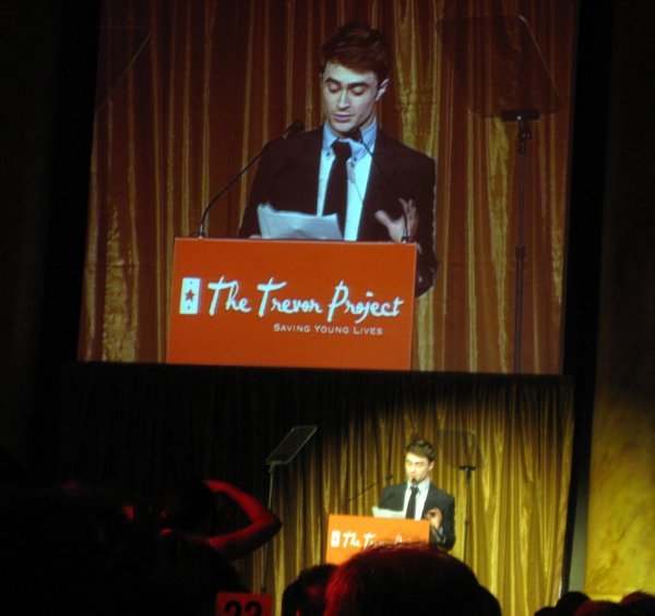 Dan receives Trevor Project Hero Award (2)