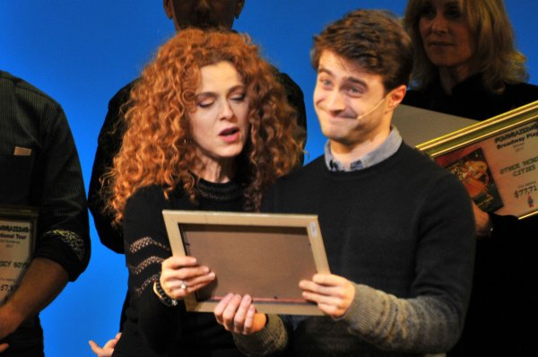 'How to Succeed' wins 'Top Fundraiser' at the Gypsy of the Year Competition (2011) !