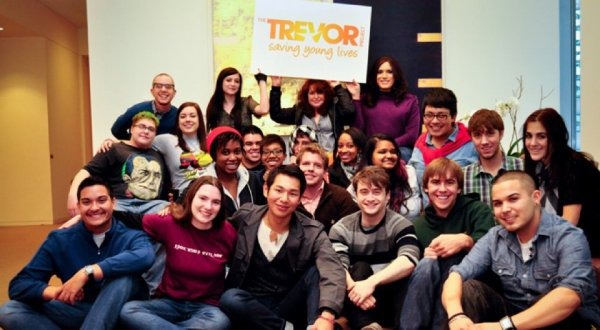 Dan and the Trevor Project people