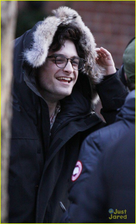 Kill your Darlings - On Set
