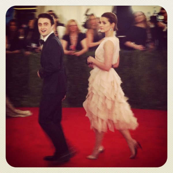 Dan Attends the 2012 Met Costume Institute Gala 