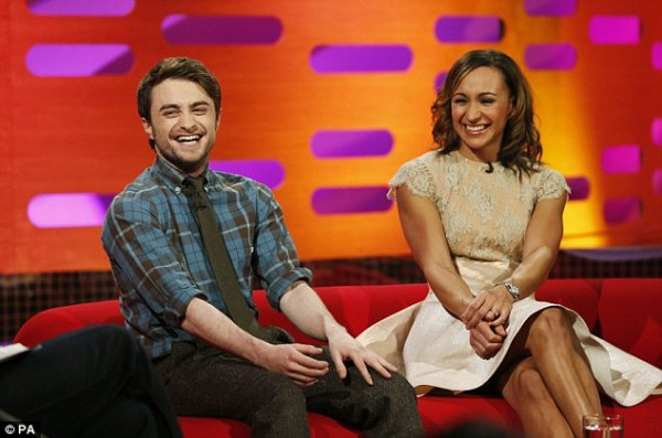 Dan on the Graham Norton Show (December '12)