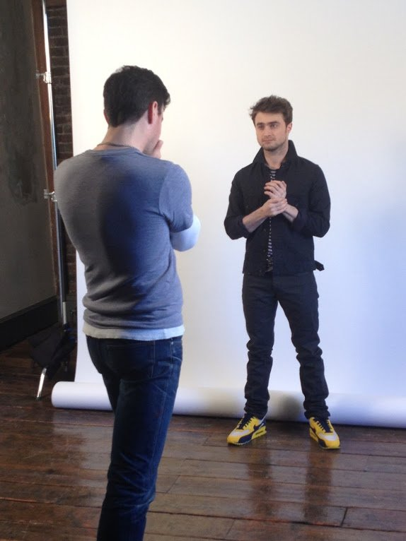 Google + -- New photoshoot BTS pictures!