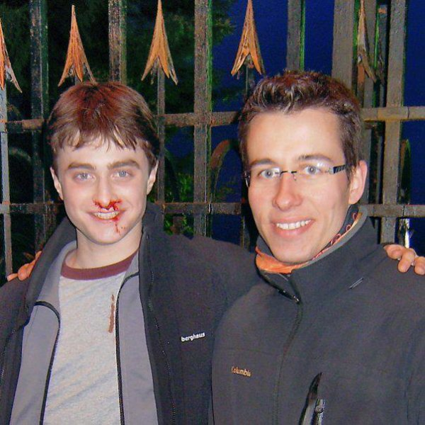 Half Blood Prince BTS Photo